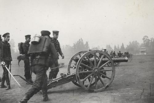 Regimiento de Artillería Tacna.