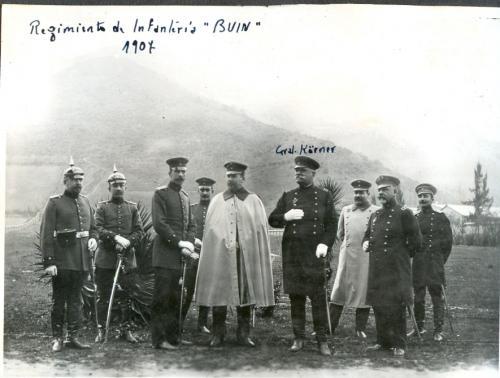"""Regimiento de Infantería """"Buín"""". 1907."""