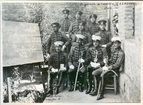 Regimiento  Cazadores 1903