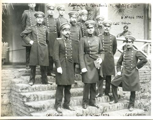 """Regimiento de Caballería """"Coraceros""""."""