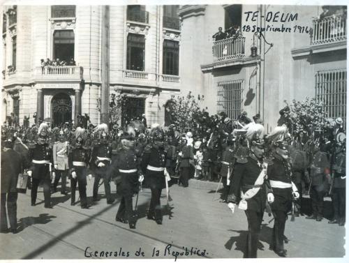 Te Deum. 18 de septiembre de 1916