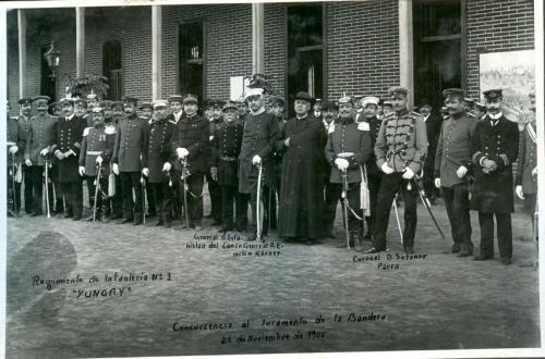 """Regimiento de Infantería n° 3 """"Yungay""""."""