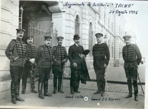 """Regimiento de Artillería """"Tacna""""."""