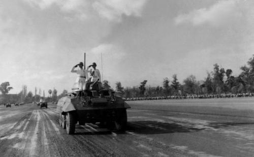 Parada Militar. 1958.